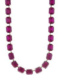Janis Savitt - Short Raspberry Chain Necklace - Lyst
