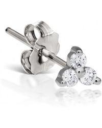 Maria Tash - Large Diamond Trinity Single Earring - Lyst