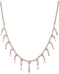 Jacquie Aiche - Baguette Diamond Shaker Necklace - Lyst