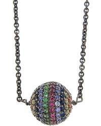 Ileana Makri - Rainbow Bead Necklace - Lyst