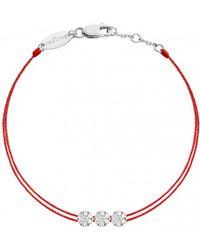 RedLine - Trillusion Diamond Red Bracelet - Lyst