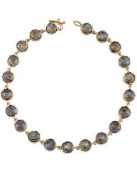 Irene Neuwirth - Small Rose Cut Labradorite Bracelet - Lyst