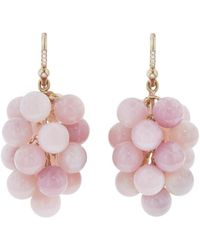 Irene Neuwirth | Pink Opal Spheres Earrings | Lyst