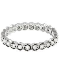 Sethi Couture - Diamond Hexagon Ring - Lyst