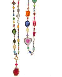Sharon Khazzam | Multi-stone And Diamond Baby Necklace | Lyst