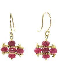 Ten Thousand Things - Ruby Foxtail Crest Earrings - Lyst
