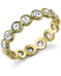 Irene Neuwirth - Rose Cut Diamond Ring Band - Lyst