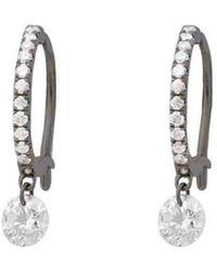 Raphaele Canot - Set Free Diamond Mini Hoop Earrings - Lyst