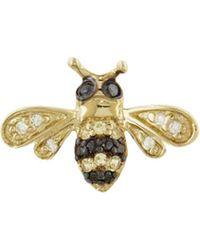 Sydney Evan - Single Bee Stud Earring - Lyst