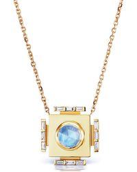 Ark - Gateway Indian Moonstone Manifestation Necklace - Lyst