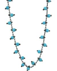 Ten Thousand Things - Double Studded Turquoise Chain Choker Necklace - Lyst