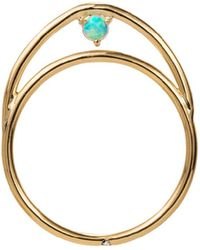 Wwake - Suspended Arc Ring - Lyst