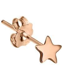 Maria Tash - Plain Star Single Stud Earring - Lyst