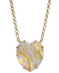 Irene Neuwirth - 28.84 Carat Opal Heart Necklace - Lyst
