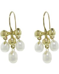 Ten Thousand Things - Tiny Victorian Pearl Dangle Earrings - Lyst