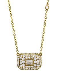SHAY - Essential Pavé Diamond Necklace - Lyst