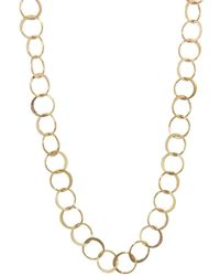Melissa Joy Manning | Half Hammered Circle Chain Necklace | Lyst
