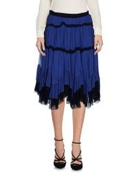 Just Cavalli - Knee Length Skirt - Lyst