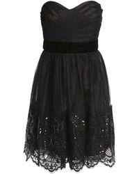 Marchesa notte - Short Dress - Lyst