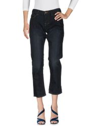 William Rast - Denim Trousers - Lyst
