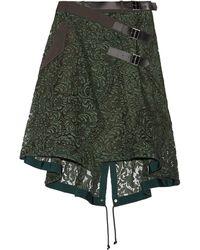 Sacai - 3/4 Length Skirt - Lyst