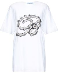 Blumarine - T-shirt - Lyst