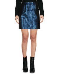 Mugler - Mini Skirt - Lyst