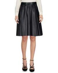 Miu Miu - Knee Length Skirt - Lyst