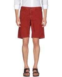 Incotex Red - Bermuda Shorts - Lyst