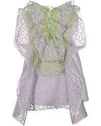 Delpozo - Short Dress - Lyst
