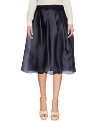 Jil Sander Navy - Knee Length Skirts - Lyst