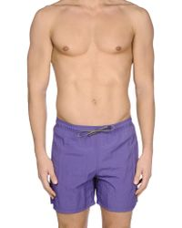 Armani - Swim Trunks - Lyst