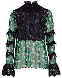 Anna Sui - Blouse - Lyst