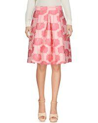 P.A.R.O.S.H. - Knee Length Skirt - Lyst