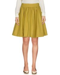 Twenty Easy By Kaos - Knee Length Skirts - Lyst