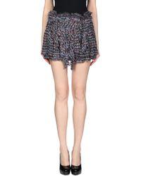 Isabel Marant - Mini Skirt - Lyst