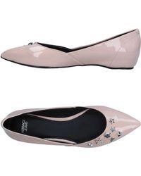 Versace Jeans - Ballet Flats - Lyst