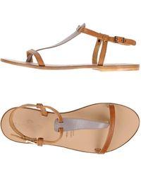 FOOTWEAR - Toe post sandals Campanile WWUG3fIXDq