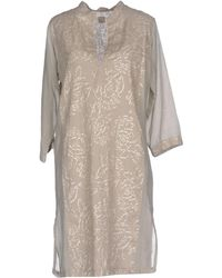 120% Lino | Short Dress | Lyst