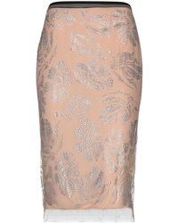 Armani Jeans - 3/4 Length Skirt - Lyst