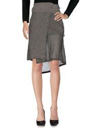 Napapijri - Knee Length Skirts - Lyst