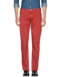 Armani Jeans - Casual Trousers - Lyst