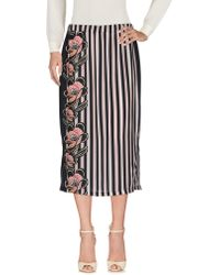 Scee By Twin-set - 3/4 Length Skirt - Lyst