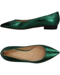 A.Testoni - Ballet Flats - Lyst