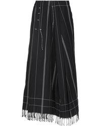 Masnada - Long Skirt - Lyst