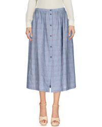 L'Autre Chose - 3/4 Length Skirt - Lyst