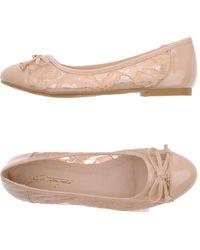 Gattinoni - Ballet Flats - Lyst
