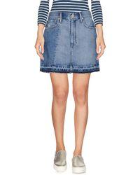 Denim & Supply Ralph Lauren - Denim Skirt - Lyst