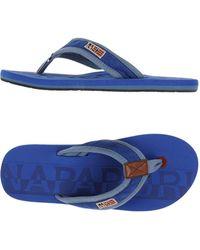 Napapijri - Toe Strap Sandal - Lyst
