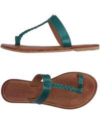 Gas - Toe Strap Sandal - Lyst